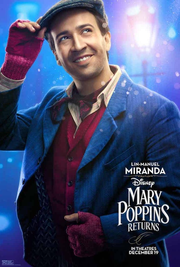 Mary Poppins' Rückkehr, Lin-Manuel Miranda schlüpft in die Rolle des optimistischen Laternenzünders Jack