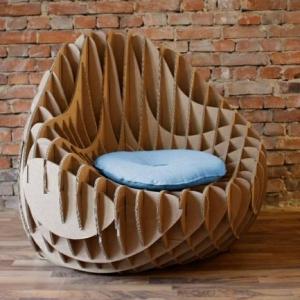Pappmöbel - 60 Ideen, die Sie selber machen können
