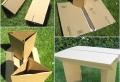 Pappmöbel – 60 Ideen, die Sie selber machen können
