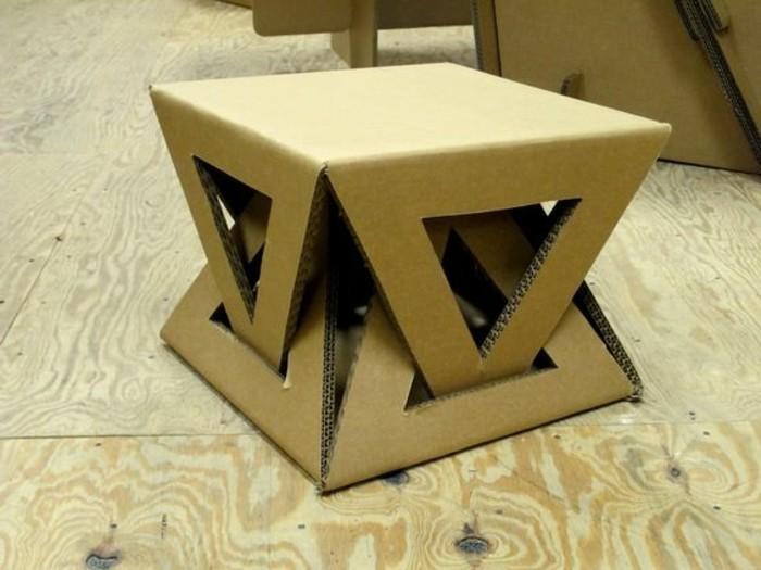stage design idee, hocker selber konstruieren, dreieck seitliche deko ideen, gestaltungsvarianten