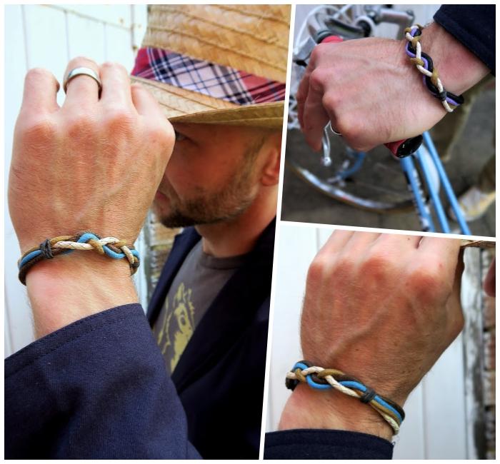 armband flechten, persönliches geschenk für freund, silberner ring, diy shcmuck