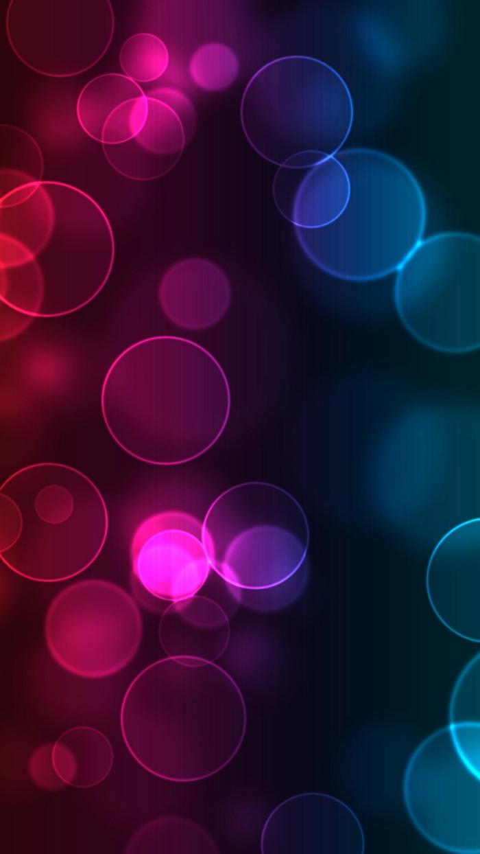 ein rotes und blaues Bild mit Blasen, Hintergrundbilder kostenlos mit glänzenden Textur