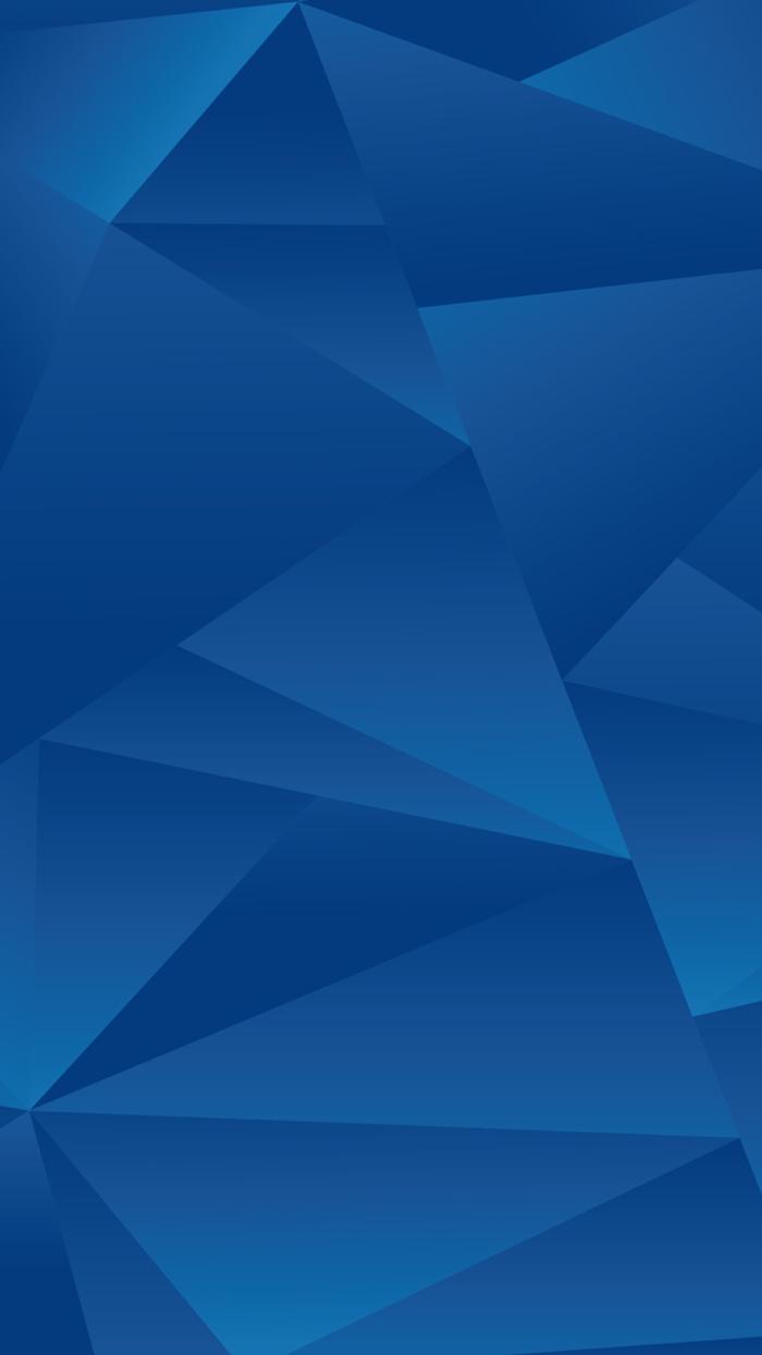 eine Menge blaue Dreiecke in verschiedenen Schattierungen, Hintergrundbilder kostenlos