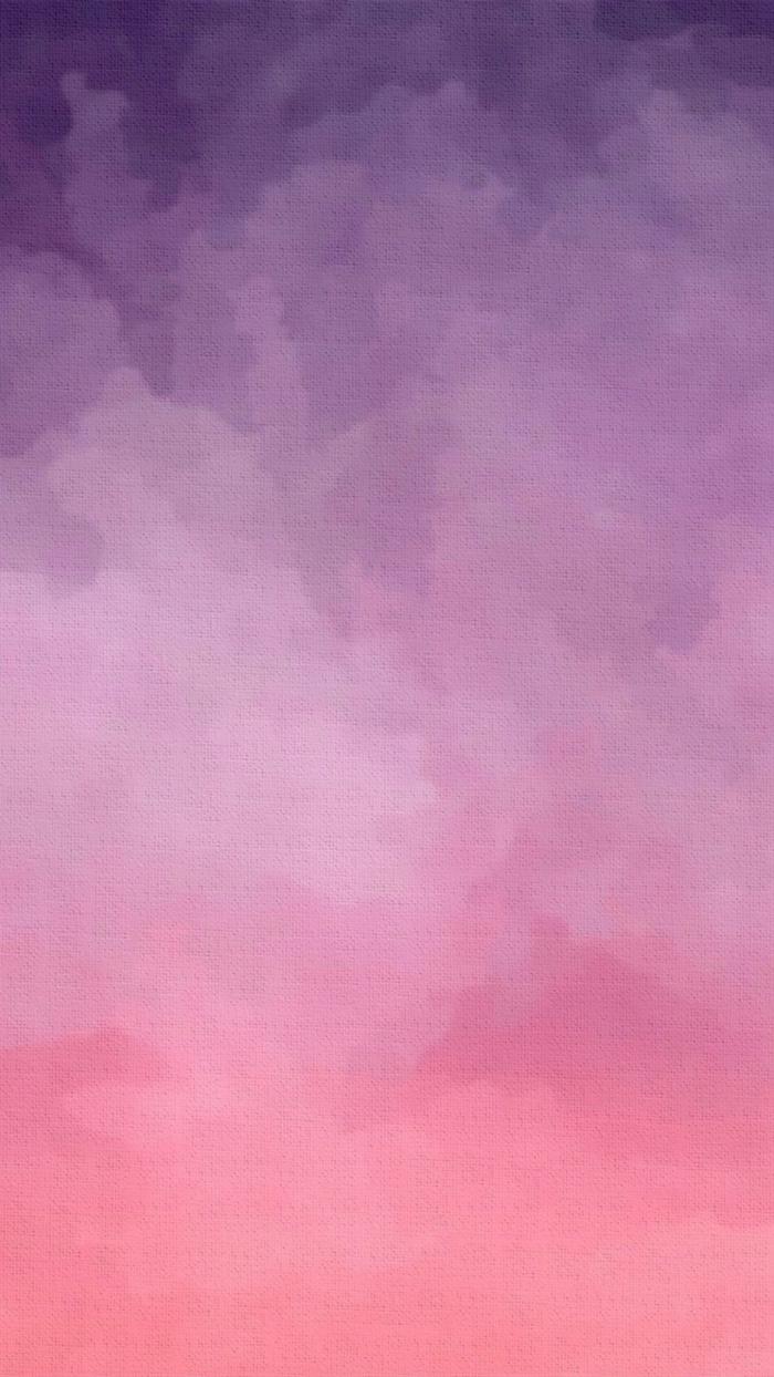 rosa und lila Wolken, ein Hintergrundbild mit allen Nuancen der rosa Farbe, Hintergrundbilder kostenlos