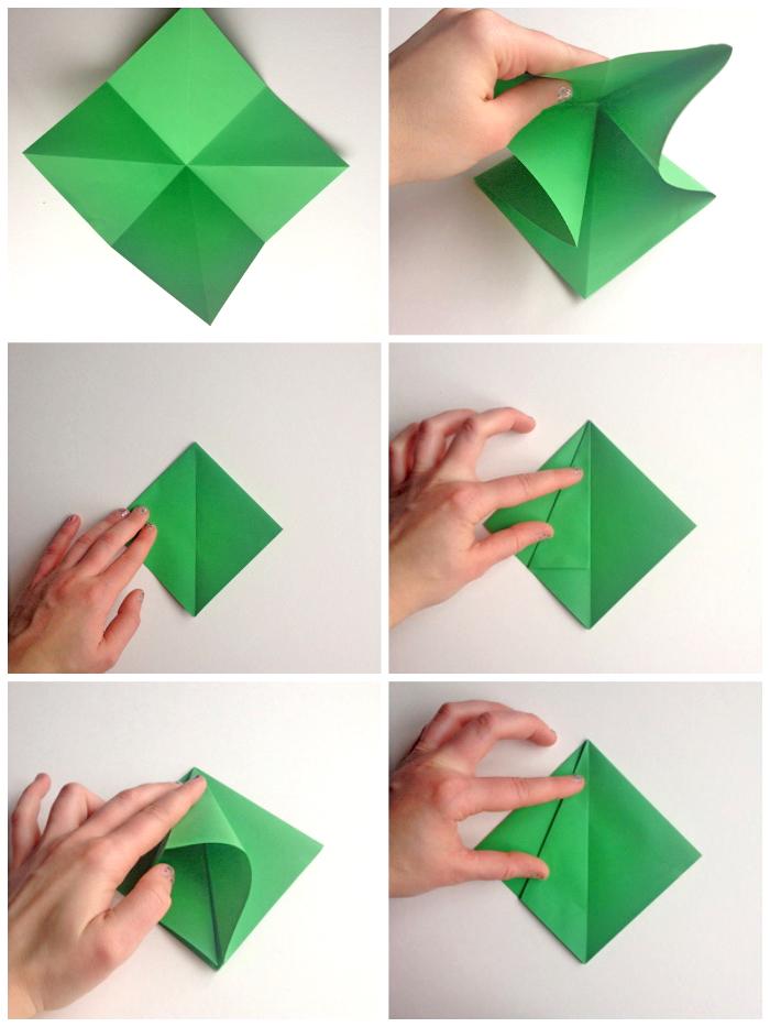 bastelanleitung origami weihnachtsbaum beliebter. Black Bedroom Furniture Sets. Home Design Ideas