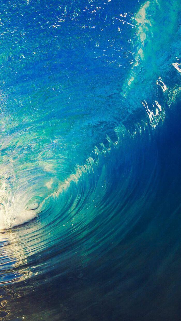 handy wallpaper, blaue welle wasser in bewegung ideen zum inspirieren, grün, blau, licht