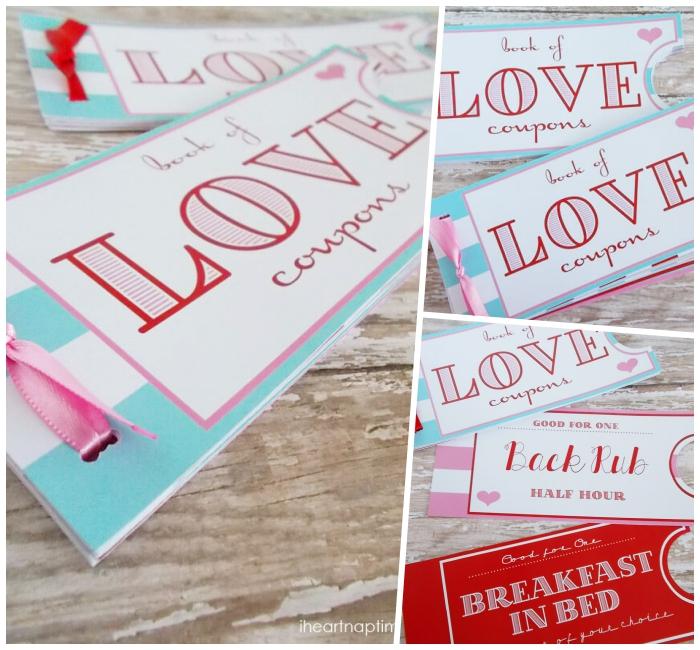 selsbtgemachte coupons, geschenk zum valentinstag, was schenke ich meinem freund