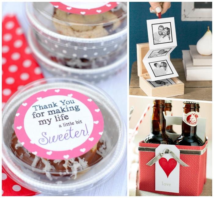 box mit fotos, was schenke ich meinem freund, selbstgemachtes persönliches geschenk