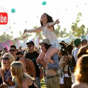 Nehmen Sie an Coachella teil mit exklusiver Sendung von YouTube