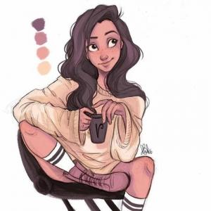 Es ist Zeit zum Mädchen Zeichnen - sehen Sie inspirierende Beispiele und lassen Sie Ihrer Kreativität freien Lauf