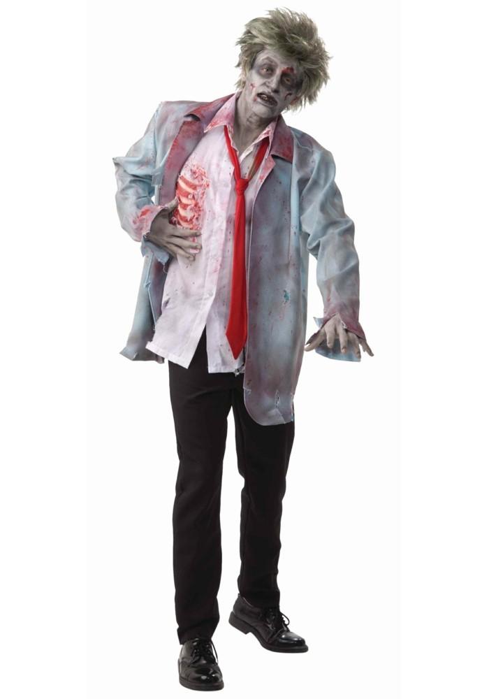 halloween kostüm ideen hulk, ein mann mit ungepflegtem look, grüne haare, grüne hände, gruseliges gesicht