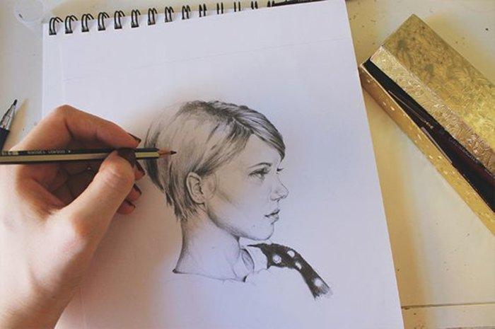 Paddock Girl Madchen Zeichnen Tumblr Bleistift