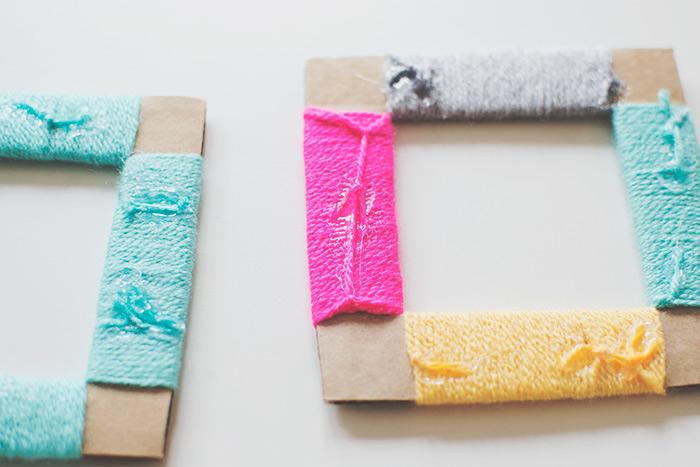 Basteln Sie schöne Bilderrahmen aus Karton für Ihre Fotos und Lieblingsmomente, Kinder aufgaben zum Selbermachen