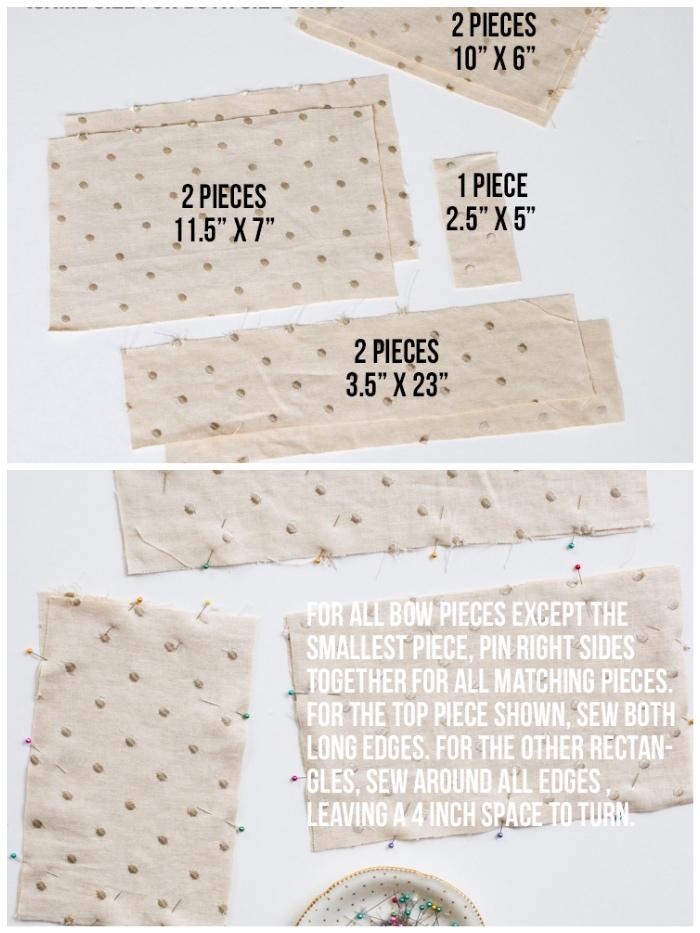 geschenk für frau selber machen, bastelideen muttertag, stücke papier, schleife nähen
