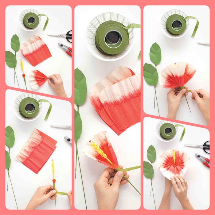 ▷ 6 + kreative Ideen, wie Sie wunderschöne Blumen basteln