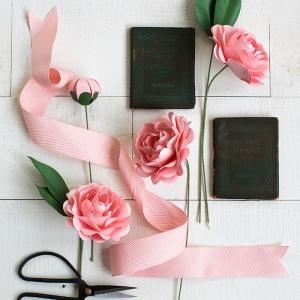 Blumen basteln - mehr als 70 Ideen