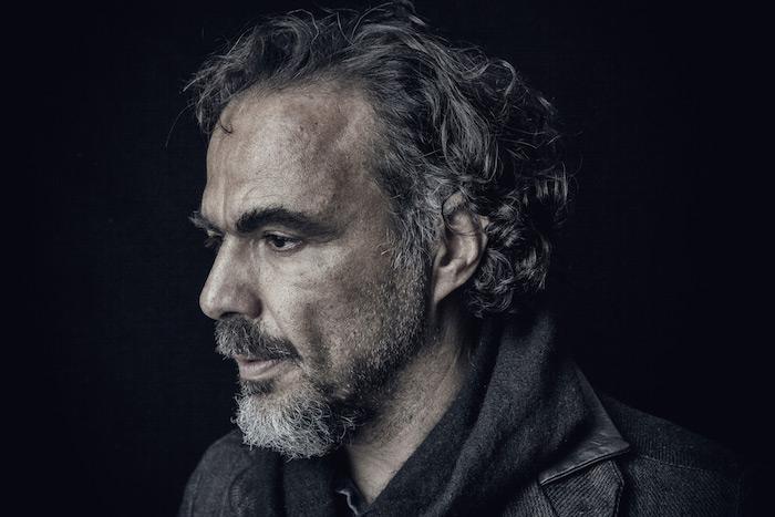 der regisseur Alejandro González Iñárritu, ein mann mit bart, bild von dem mexikanischen filmemacher