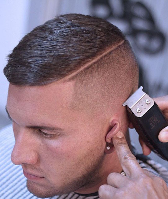 Frisuren mittellang stufig, Frisurideen, Haarstyle selber gestalten oder zum Frisör gehen