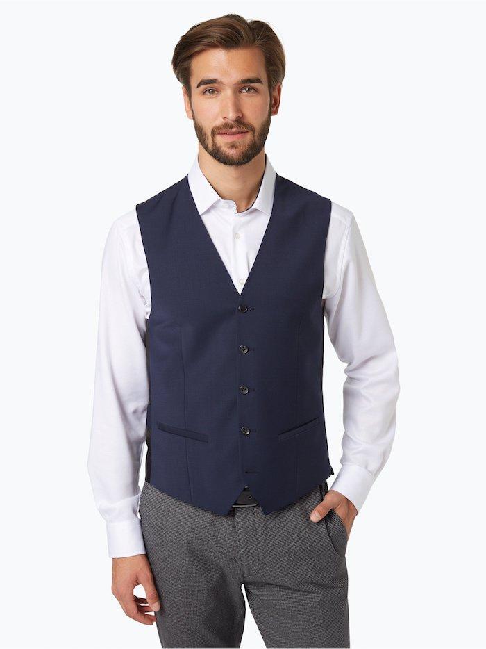 Den perfekten Anzug finden, harmonische Farben, Herrenanzug mit Weste