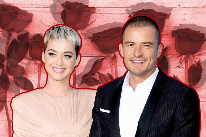 Kety Perry und Orlando Bloom sehen so gut zusammen, kurze Haare von dem Paar