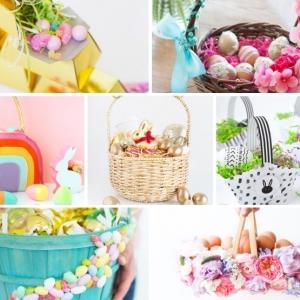 Osterkörbchen basteln: Erfreuen Sie die Kleinen mit selbstgemachten Körbchen zum Fest!