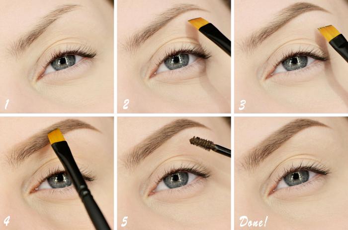 frauenauge, make up anleitung, perfekte augenbrauen schminken tutorial, schminktipps