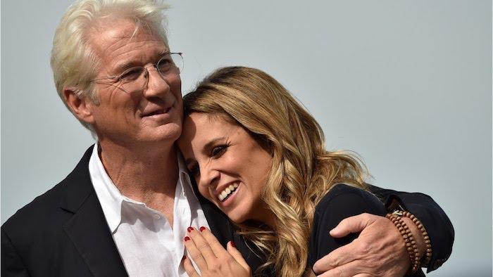 Richard Gere mit 69 Jahren wieder Vater geworden, das glückliche Paar, Gere und Silva