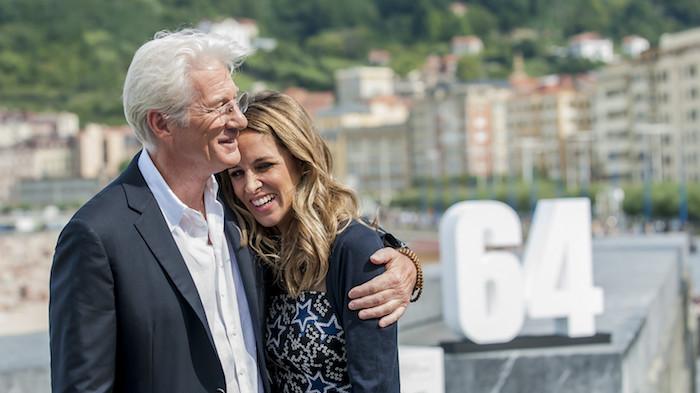 Richard Gere und Alejandra Silva bei dem Filmfestival in San Sebastian