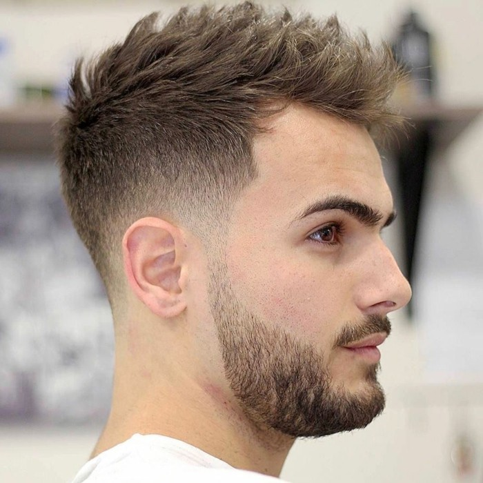 frisuren männer ideen stil für männer, bart und haare coole stylings, undercut männer