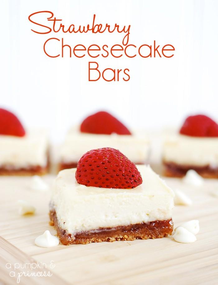 joghurette torte selber machen, cheesecake mit erdbeeren, rezept ohne backen, boden aus nüssen