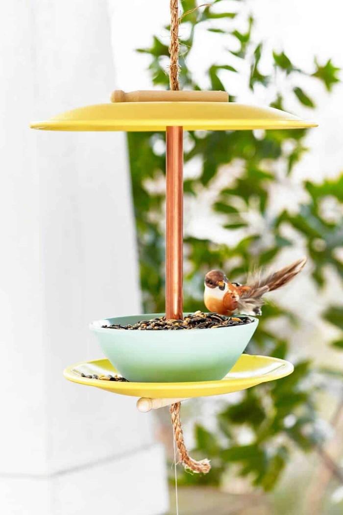 moderne gartenhäuser ideen zum dekorieren und schmücken, vogelhaus, naturfreundlliche menschen
