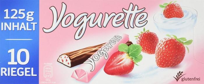 erdbeer joghurt torte mit schoko riegel, erdbeeren, zehn riegel, erdbeer geschmack