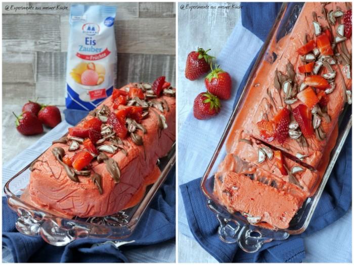 chefkoch torten ideen und rezepte für torten, erdbeeren, schoko form, erdbeerfrüchte, blaue tischdecke