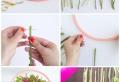 Frühlingsdeko basteln mit Naturmaterialien: 86 Inspirationen für eine frische Deko für Ihr Zuhause!