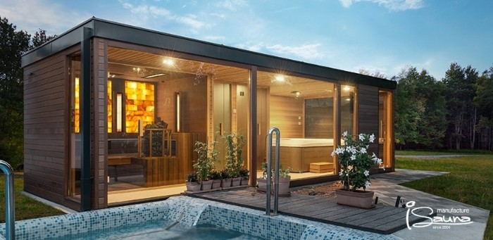 Design Gartenhaus, Flachdach Ideen zur Gestaltung, Dekor und Design zu Hause