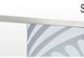 Moderne Glasschiebetüren für eine breite und helle Wohnung