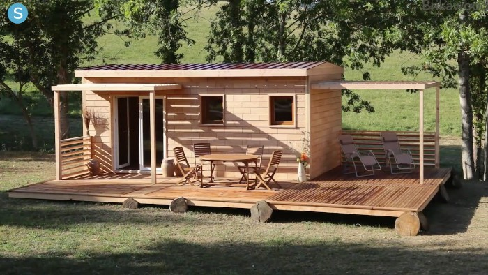 kleine Gartenhäuser Idee zum Nachmachen, Dekor und Design zu Hause, Garten mit einem kleinen zusätzlichen Häuschen ausstatten