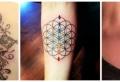 Blume des Lebens Tattoo – 50 Designs und interessante Tatsachen rund um sie
