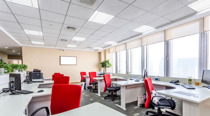 LED-Panels für höhere Produktivität, Konzentration und Motivation