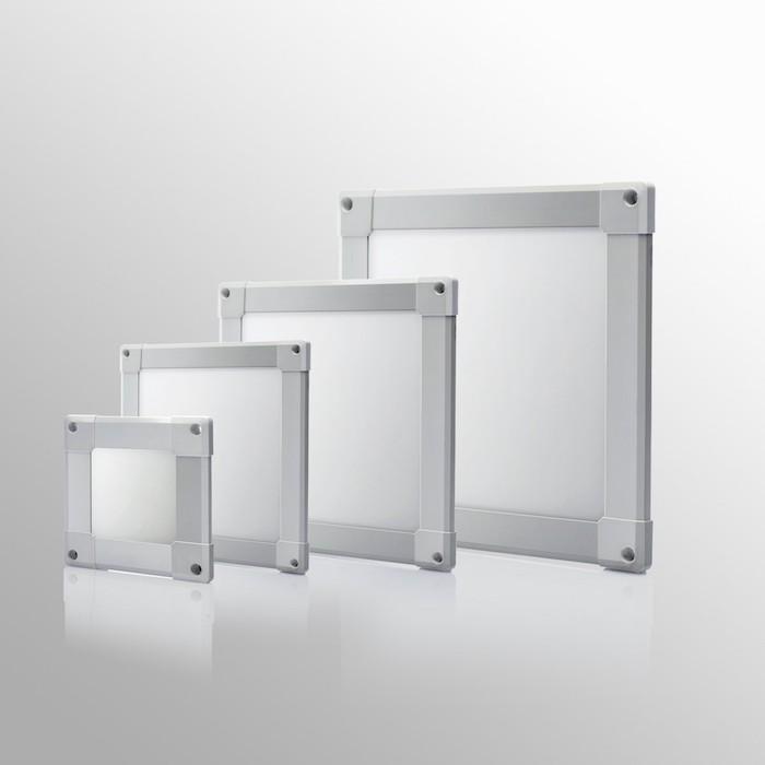 LED-Panels gibt es in unterschiedlichen Formen und Größen