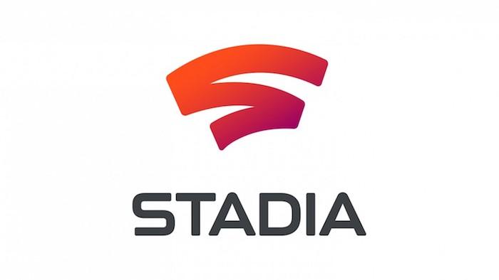 die neue plattform von google namens stadia, der logo von game-streaming-plattform stadia