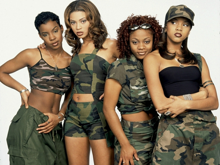 ein Foto von Destiny´s Child, Modetrends aus 2000s, Camo Outfits