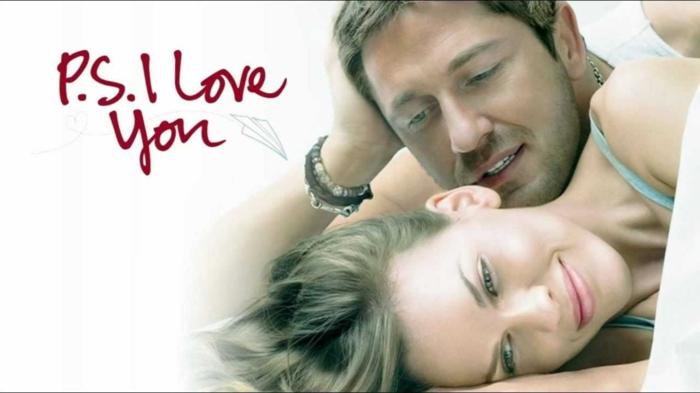 das glückliche Ehepaar ist zusammen trotz des Todes, P:S. Ich liebe dich