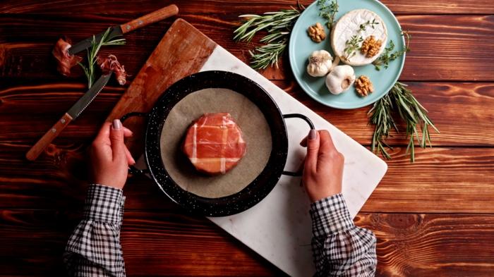 8 bruch rezepte zum vorbereiten brie backen leckere gerichte käse mit prosciutto