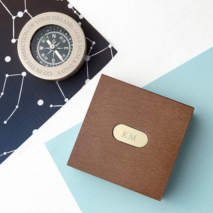 geschenk 40 geburtstag mann, ein kompass für männer, damit sie ihren richtigen weg immer wieder finden