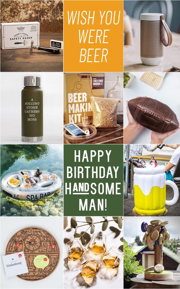 geschenk 40 geburtstag mann, bier geschenk für mann, biere selber machen, geschenk ideen