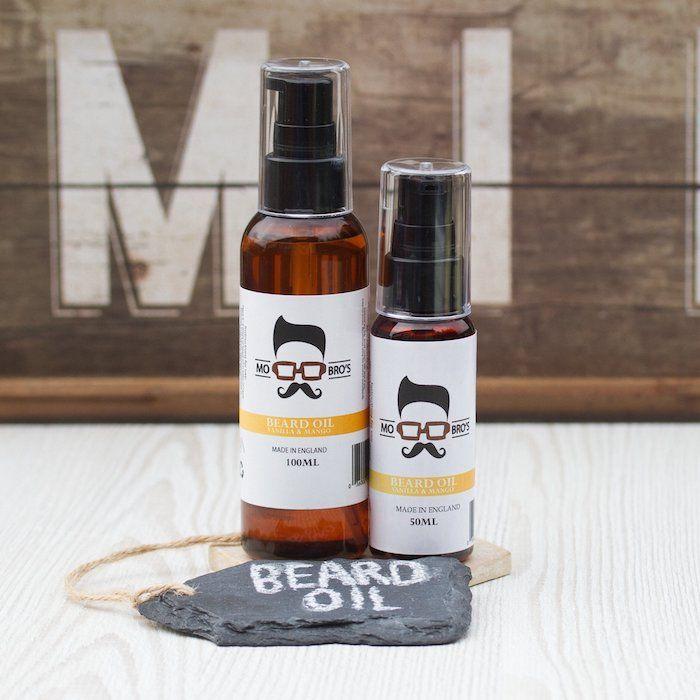 geschenk 40 geburtstag mann, bart pflege set zwei flaschen mit öle und pflegeprodukte für männer