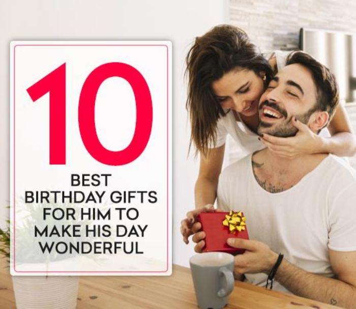geschenke für männer 50 geburtstag, 10 geschenkideen für mann, damit sie ihn erfreuen, mann und frau