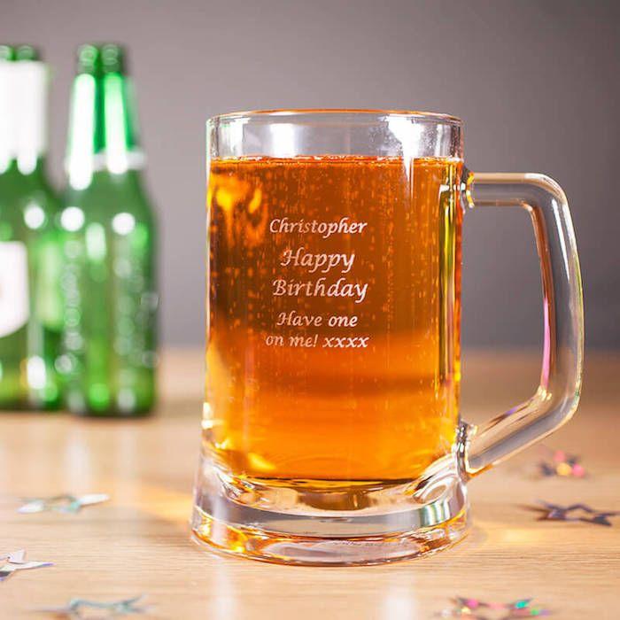 geschenk für besten freund, bierglas personalisiert, alles gute zum geburtstag