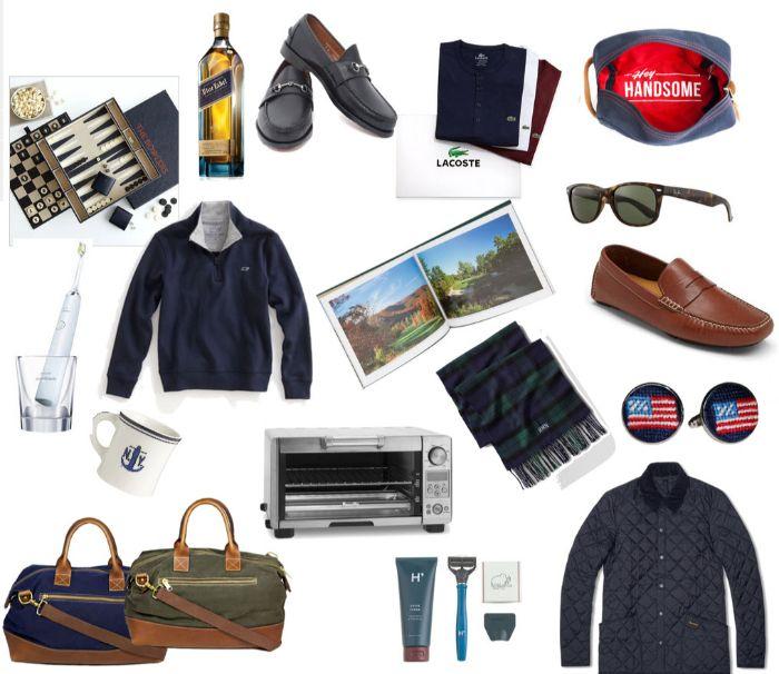 coole geburtstagsgeschenke, sporttasche, schuhe, brille, flasche, brettspiel